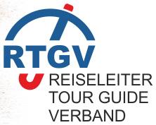 Logo Reiseleiter - TourGuide - Verband e. V.